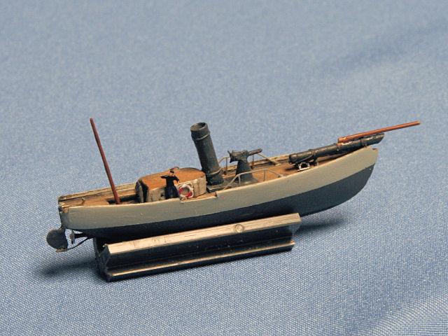 German Imperial Navy Torpedo Steam Launch