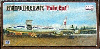Дата.  1607. Добавил.  112. maximf.  Инструкция по сборке модели самолета Boeing 707 от Minicraft.